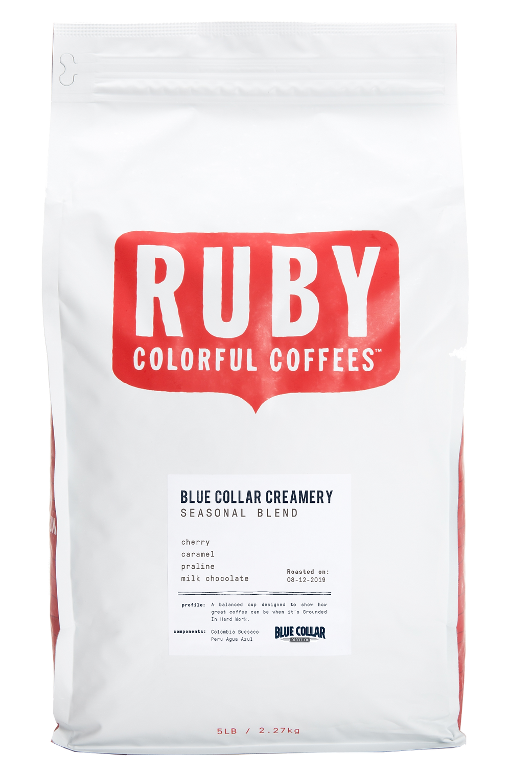 Blue Collar Creamery Blend   Ruby Roasters