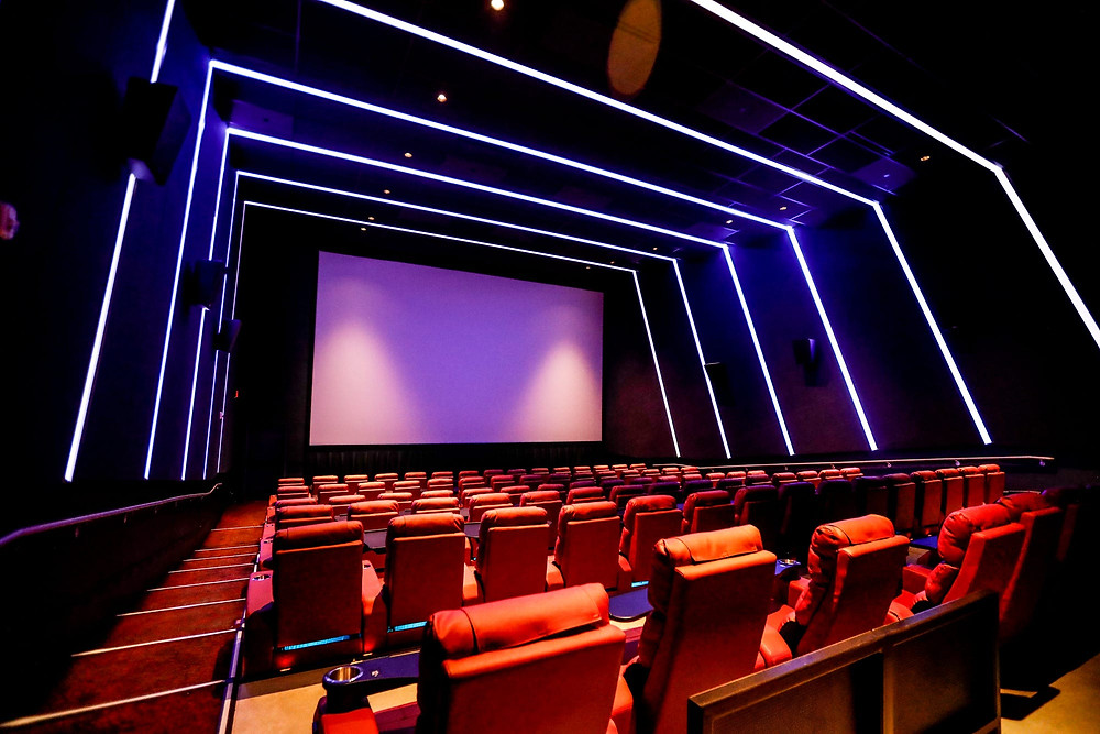 Living Room Theaters boasts a mix of exclusive new film releases and independent films along with a full lineup of food and drinks.