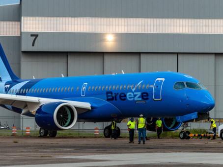 Breeze Airways New Look