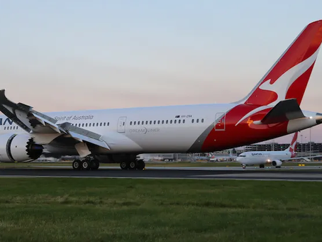 Qantas Re-routes London-Perth Service