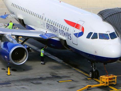 BRITISH AIRWAYS' GREEN LIGHT