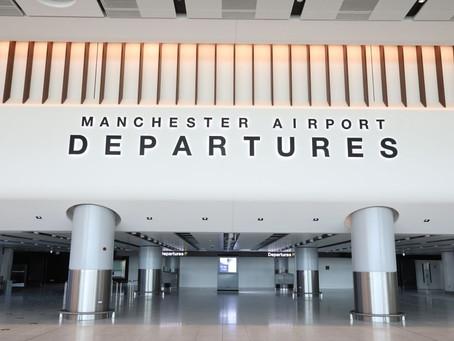 Manchester Airport's First Terminal 2 Extension Passengers Depart