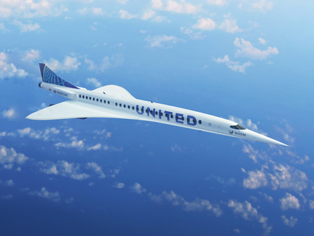 United Airlines Go Supersonic