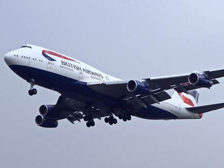 British Airways 747 To Be Preserved - and as a Film Star