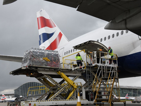 British Airways Airlifts 27 Tonnes of Aid to India