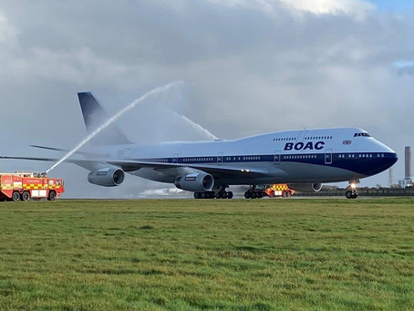 British Airways' Final 747 Flight