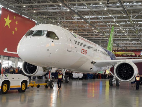 Behind Airbus-Boeing Truce Lies a Common Rival: China