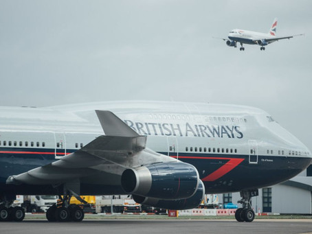 All Three British Airways Heritage 747s preserved