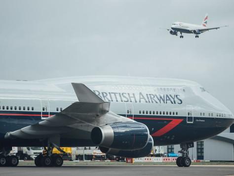 All Three British Airways Heritage 747s preserved