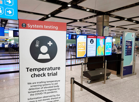 Temperature screening equipment now being trialled at Heathrow