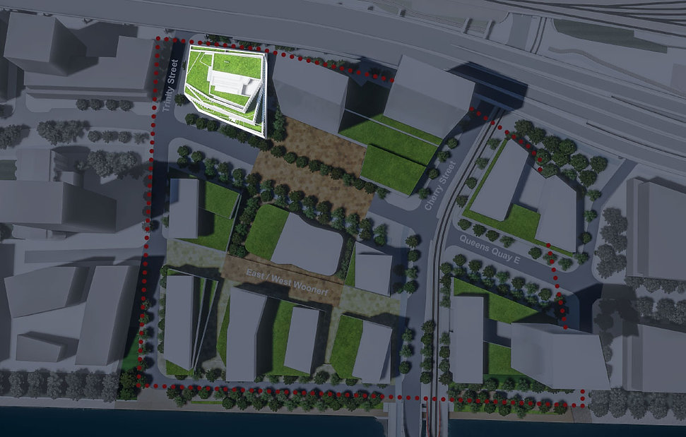 Mixed-use community located at 300 Queens Quay East, Toronto, ON