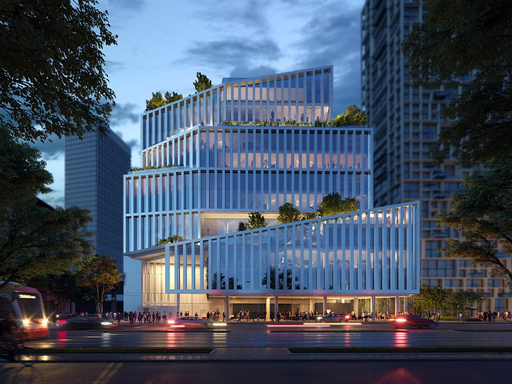 Office building at 300 Queens Quay East, Toronto, ON