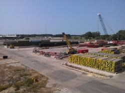 Barge Unloading Storage