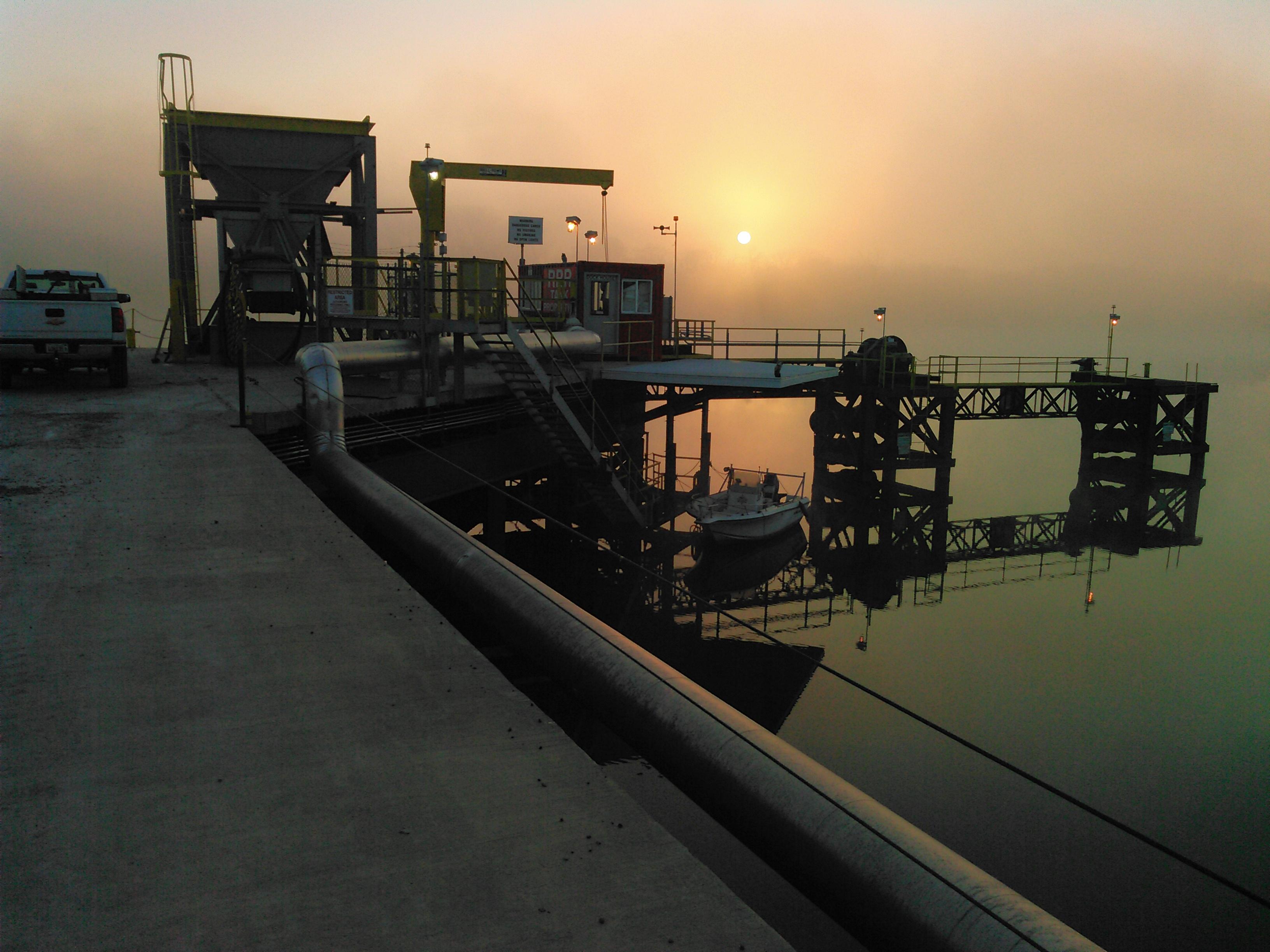 Barge Transfer Terminal