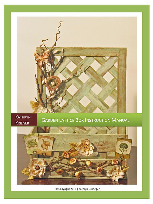 Garden Lattice Box Manual