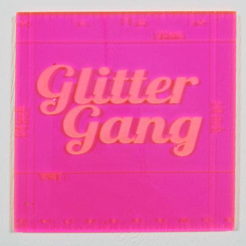 Glitter Gang Tape Tearing Tool