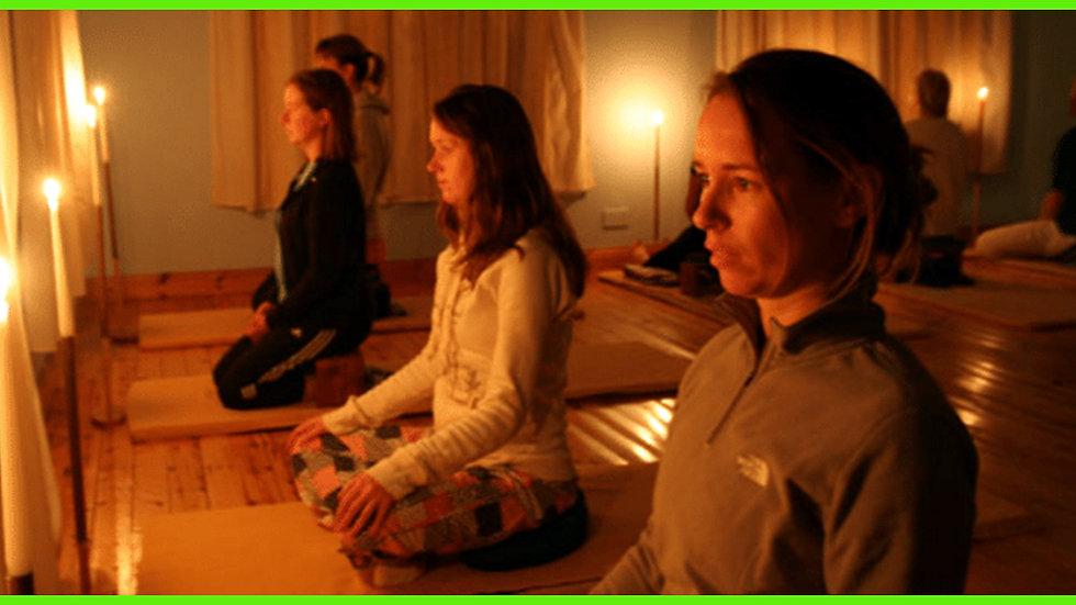 Candle light meditation strengthen the 3rd eye