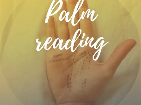 Whats having a palm reading all about ?