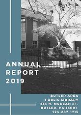Butler Area Public Library - Annual Repo