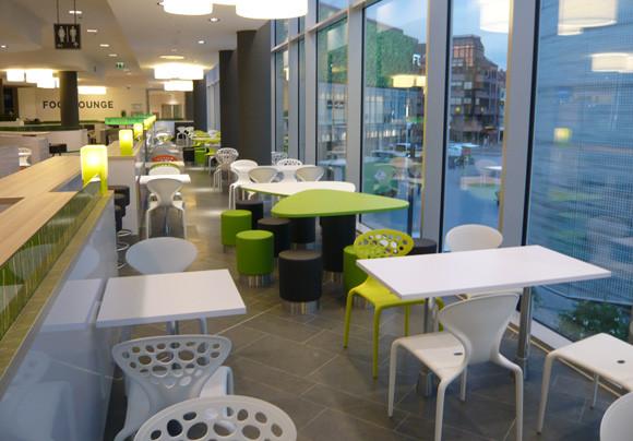 Foodcourt Bestuhlung Im Forum Mittelrhein, Koblenz