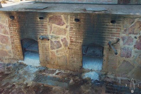 copper distillation area