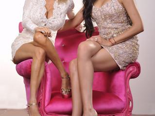 Joyce Giraud (Real Housewife's of BH) and Shina Ray (Fashion Designer)