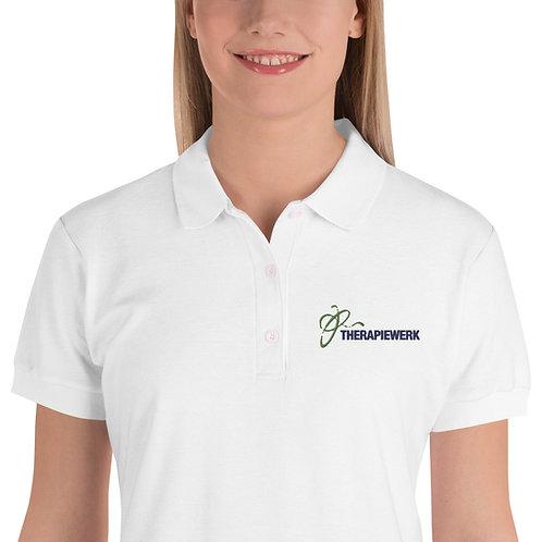 Besticktes Damen-Polo-Shirt