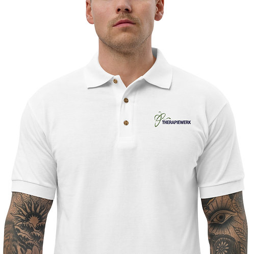 Besticktes Polo-Shirt