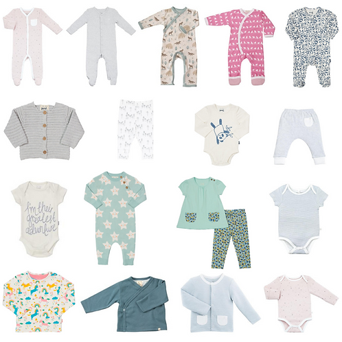 Organic Baby Clothing Subscription