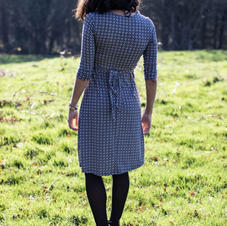Gina Geo Dress (back)