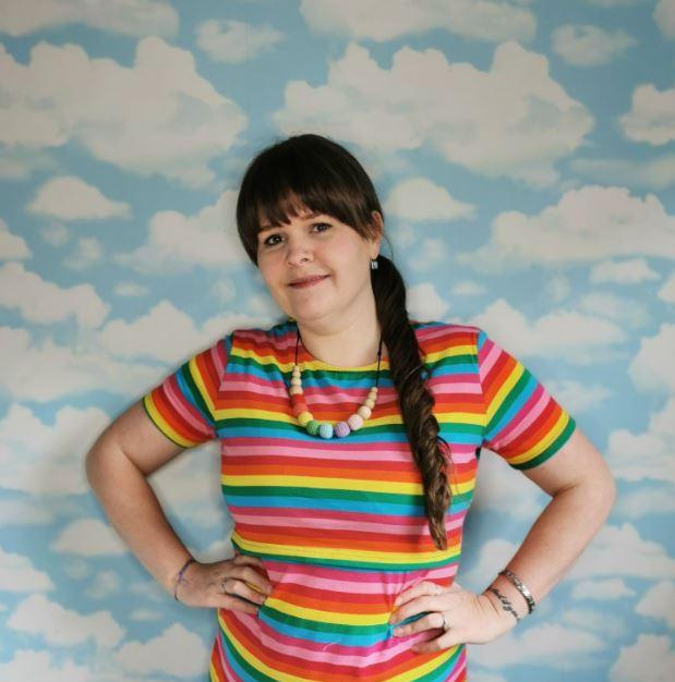 Rachel Rainbow Top