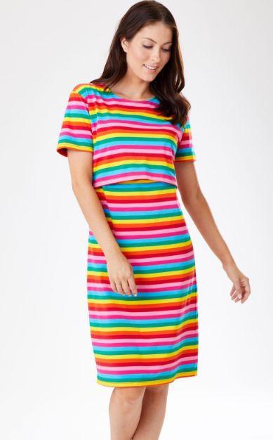 Rachel Rainbow Dress