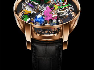The Jacob & Co. x Alec Monopoly Collaboration Timepiece