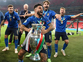It's not coming home yet as Italy triumph at the Euros