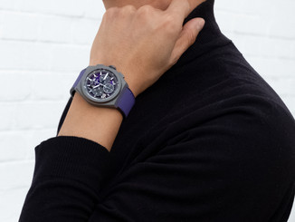 ZENITH Explores a new spectrum of color with the first violet chronograph movement: