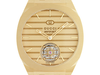 Gucci launches high watchmaking collection