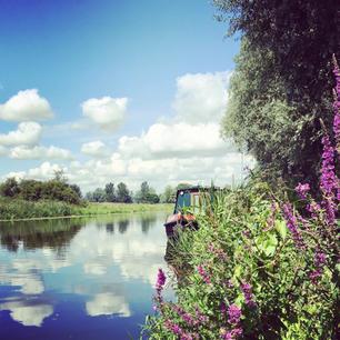 Barnwell Moorings, River Nene