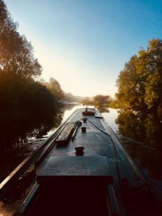 Boating at Barnwell Moorings