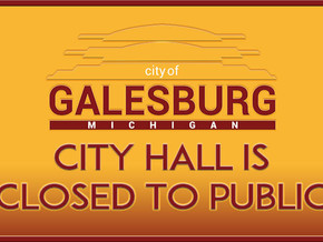 City Hall is Closed to the Public