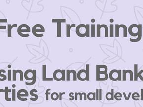 Free Small Developer Training
