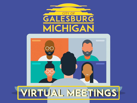 *ATTENTION!* - Meetings Are Virtual!
