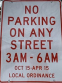 Parking Ordinance for the City of Galesburg, Michigan