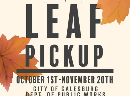 2020 Fall Leaf Pickup