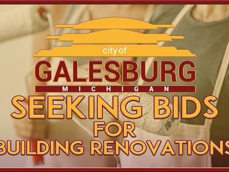Building Renovations - We're Seeking Bids!