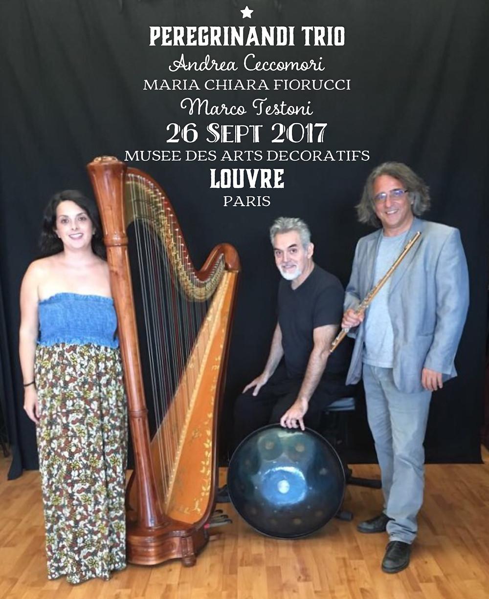 Peregrinandi Trio @ Louvre Paris