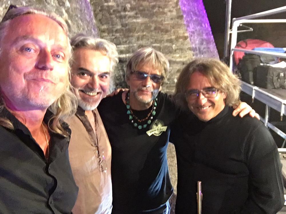 Mats Hedberg Marco Testoni Tony Esposito Andrea Ceccomori