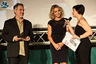Marco Testoni e Claudia Gerini