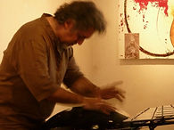 Marco Testoni, handpan player