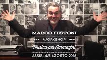 4 e 5 Agosto ad Assisi il Workshop di Musica per Immagini