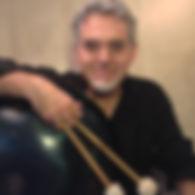 Marco Testoni, handpan player